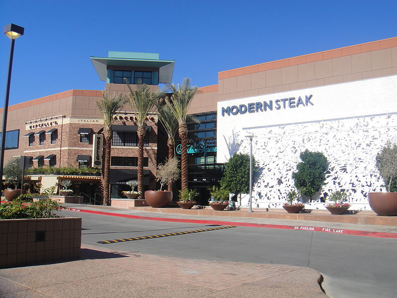Map Of Scottsdale Fashion Square Stores