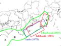 Fault models of 1854 Ansei-Tokai-earthquake.png