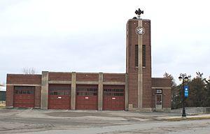 Fenton, Michigan - Image: Fenton Michigan Old Fire Hall