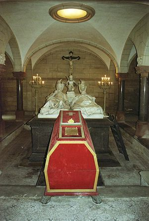 St. Augustin, Coburg - Tombs of Tsar Ferdinand, Prince August and Princess Clémentine