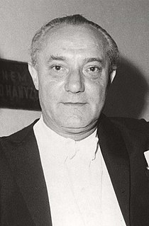 János Ferencsik Hungarian conductor