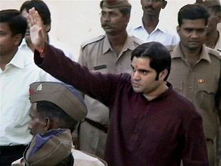 Varun Gandhi Indian politician