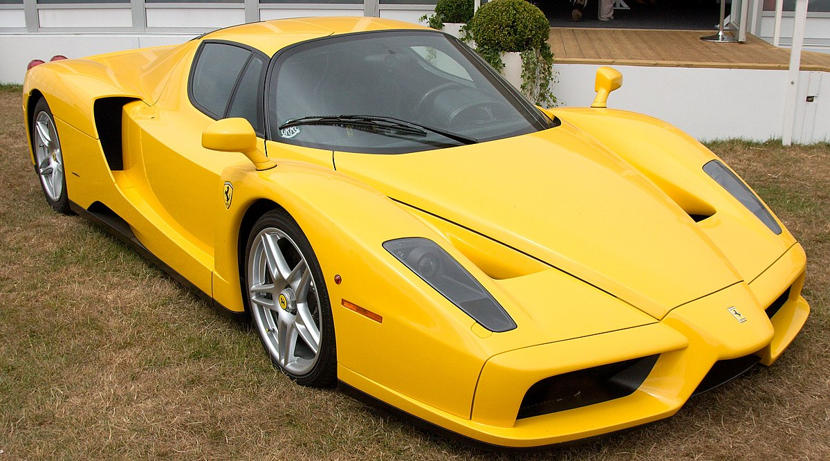 The First Car Ever Made >> Enzo Ferrari (automobile) - Wikipedia