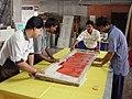 Festival Of India Exhibition In Bhutan 2003 Preparations - NCSM - Kolkata 2003-09-06 00130.JPG