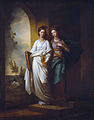Fidelia and Speranza by Benjamin West, Timken Museum of Art.JPG