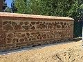 Finaliza la primera fase de restauración del muro del Renegado en la Casa de Campo 02.jpg