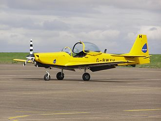 703 Naval Air Squadron - A Slingsby Firefly of the Defence Elementary Flying Training School