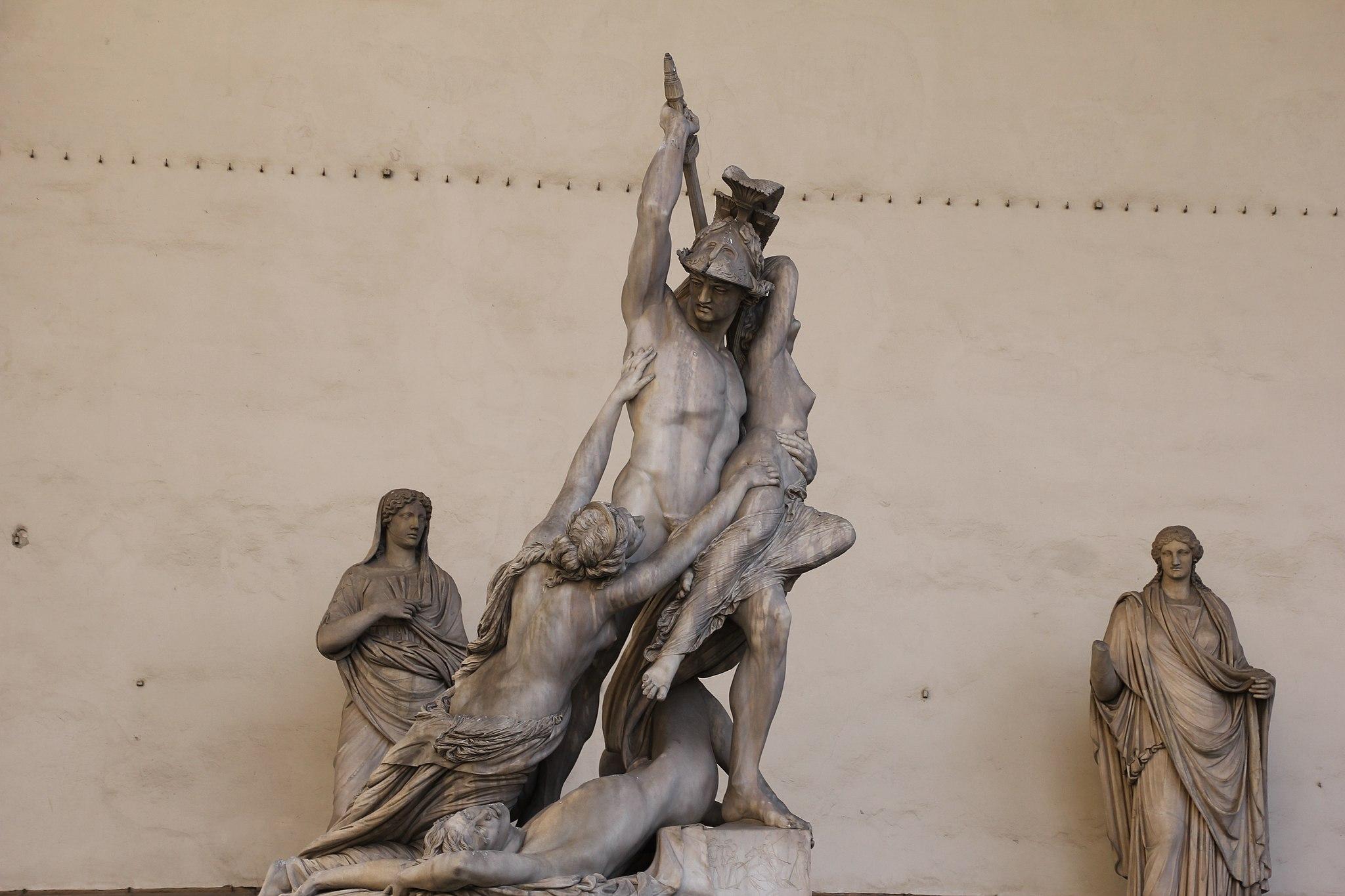 Firenze, Ratto di Polissena,