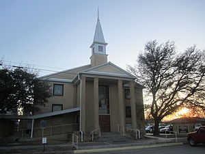 Eldorado, Texas - First Baptist Church of Eldorado