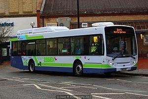 Alexander Dennis Enviro350H - First Essex Alexander Dennis Enviro350H in May 2013