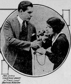 First Love (1921 film) - Ad for film