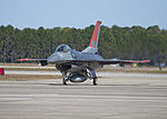 First QF-16 target aircraft arrives at Tyndall AFB 2012.jpg