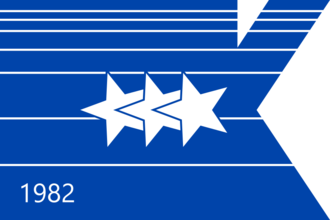 Keizer, Oregon - Image: Flag of Keizer