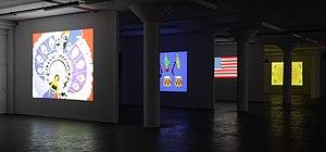 Myriam Thyes - Flag Metamorphoses, Halle Zehn, CAP Cologne, Cologne, 2010