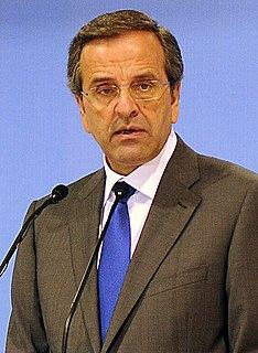 Antonis Samaras Greek politician