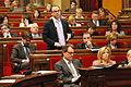 Flickr - Convergència Democràtica de Catalunya - Turull en la sessió de control del Ple del Parlament.jpg