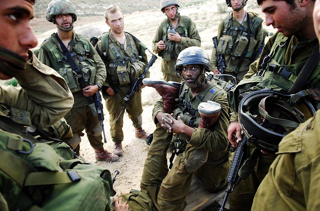 لواء Kfir الاسرائيلي .....חֲטִיבַת כְּפִיר 1024px-Flickr_-_Israel_Defense_Forces_-_Kfir_Soldiers_in_Training