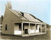Flipped MIT Solar One house