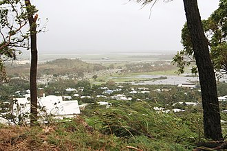 Belgian Gardens, Queensland - Flooding in Belgian Gardens during Cyclone Yasi, 2011