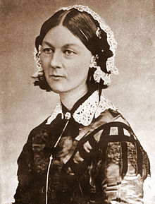 220px Florence Nightingale CDV by H Lenthall Nursing Evolution [infographic]   A Lesson in Nursing History
