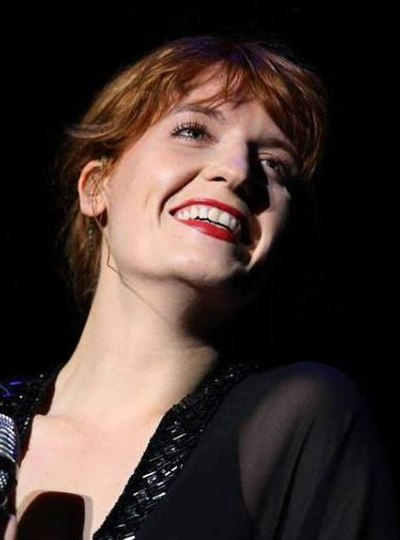 Picture of a band or musician: Florence Welch