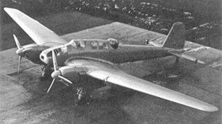 Focke-Wulf Fw 57 German fighter-bomber prototypes