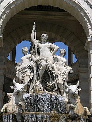 Pierre-Jules Cavelier - Image: Fontaine du Palais Longchamp 2