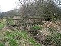 Footbridge beside a path - geograph.org.uk - 1232127.jpg