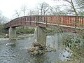 Footbridge over River Irfon, south of Beulah - geograph.org.uk - 157284.jpg