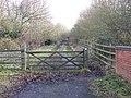 Footpath off Park Lane, Snitterfield - geograph.org.uk - 1706423.jpg