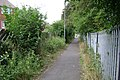 Footpath rear of Haseley Close, Leamington Spa - geograph.org.uk - 1427388.jpg