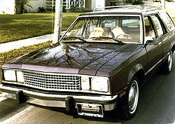 Ford Fairmont Wagon (Kombi)