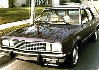 Ford Fairmont - Image: Ford Fairmont wagon