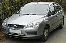 Ford Focus Valmistusmaa