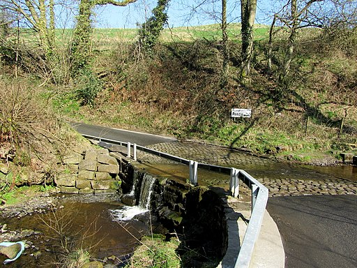 Ford over Catlow Brook (geograph 2874365)