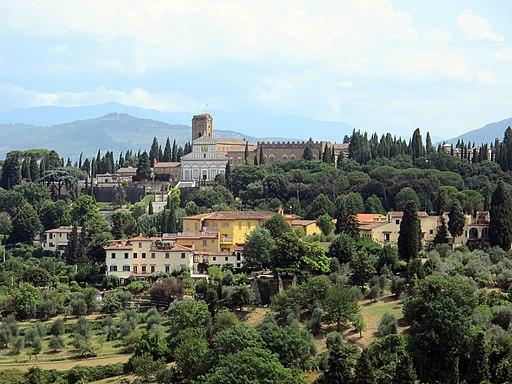 Forte Belvedere, vista su San Miniato al Monte