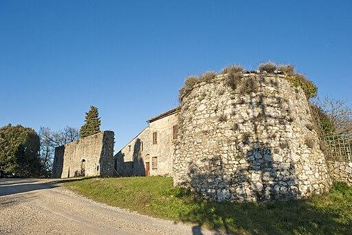 Fortificazioni medievali a Marmoraia, Casole d'Elsa