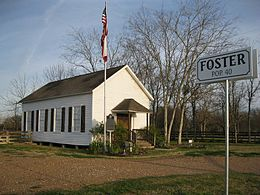 Foster Community Museum on FM 359