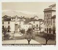 Fotografi av Granada. Plaza de Mariana Pineda, casa árabe y vista de Sierra Nevada - Hallwylska museet - 104823.tif