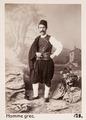Fotografi av grekisk man - Hallwylska museet - 103085.tif