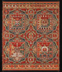 Four Mandalas of the Vajravali Cycle