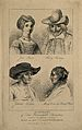 Four separate portraits; Jane Shore (unfortunate beautiful m Wellcome V0007353.jpg