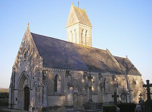 Barbeville - The Church of Saint-Martin