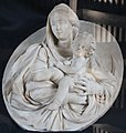 Francesco Maria Schiaffino, Ovale con Madonna con Bambino, metà sec. XVIII 02.jpg