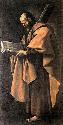 Sant'Andrea dipinto da Francisco de Zurbarán