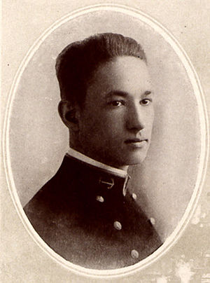 Frank Wead - Twenty year old Midshipman Frank Wilbur Wead, Class of 1916 yearbook photograph taken by the United States Naval Academy photographer.