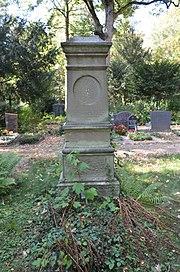 Frankfurt, Hauptfriedhof, Grab J Heinrich Neeb