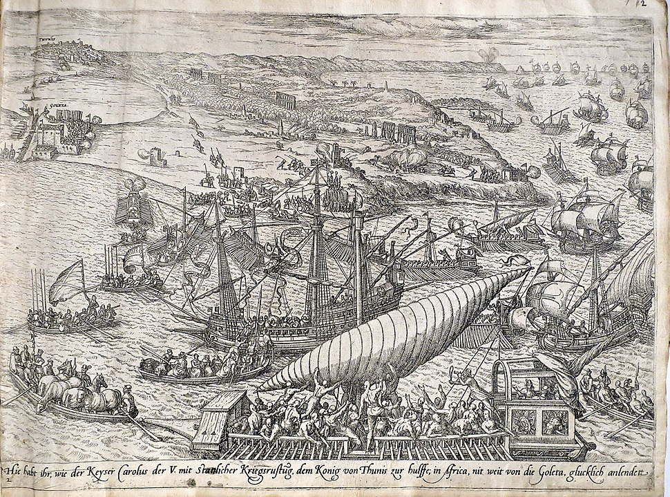 Frans Hogenberg battle of Tunis