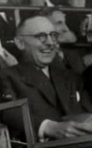 Frans Teulings - Frans Teulings in 1951