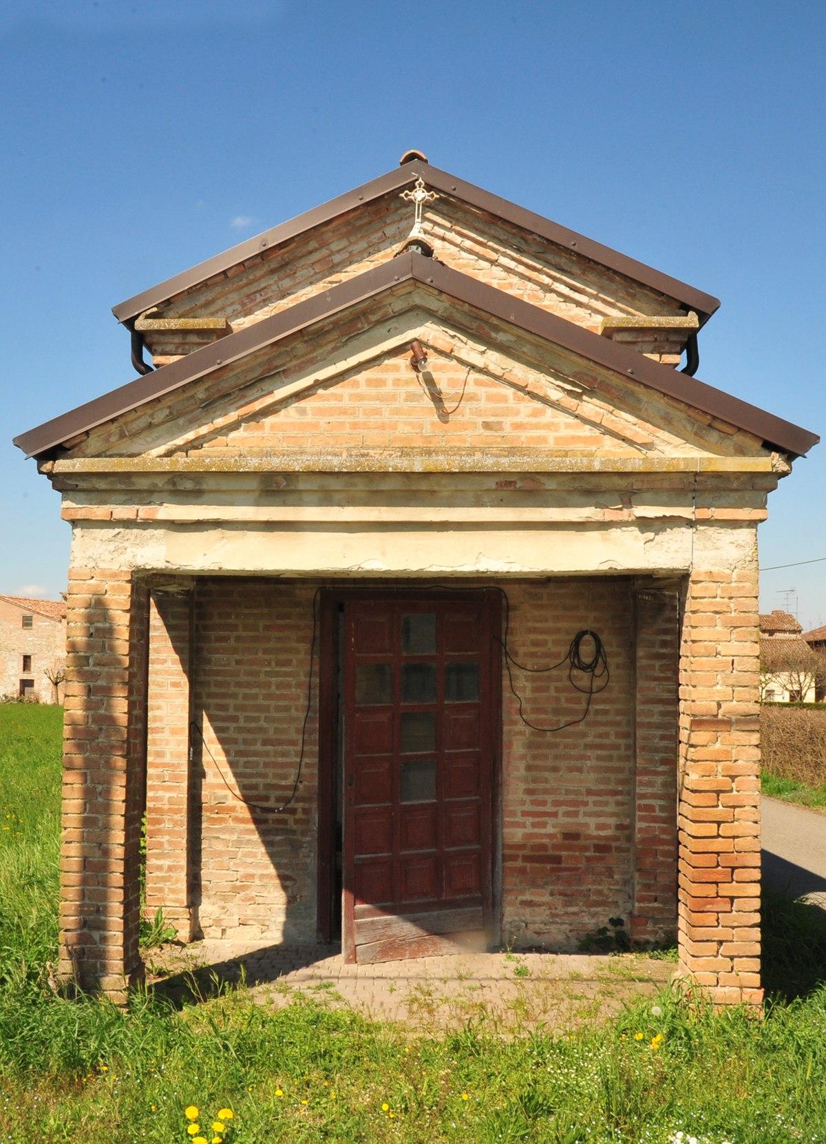 Mistadello wikipedia for Quanto costa costruire un portico anteriore